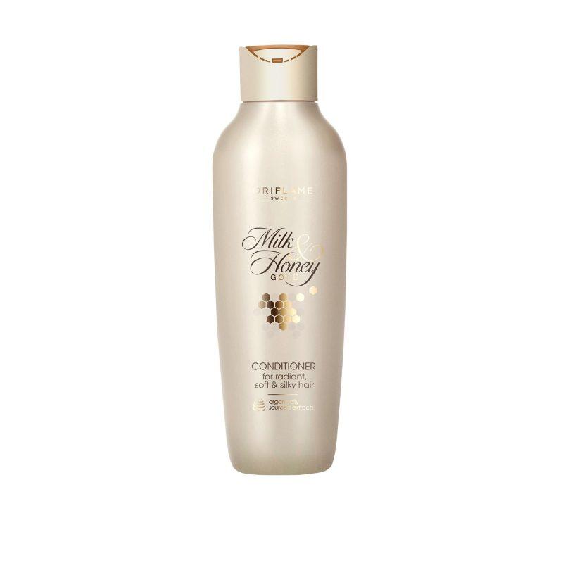 نرم کننده شیروعسل میلک اند هانی گلد اوریفلیم MILK & HONEY GOLD Conditioner for Radiant, Soft & Silky Hair Oriflame