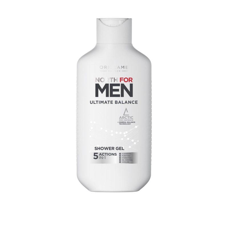 شاورژل آلتیمت بالانس نورث فورمن مردانه اوریفلیم North For Men Ultimate Balance Shower Gel Oriflame