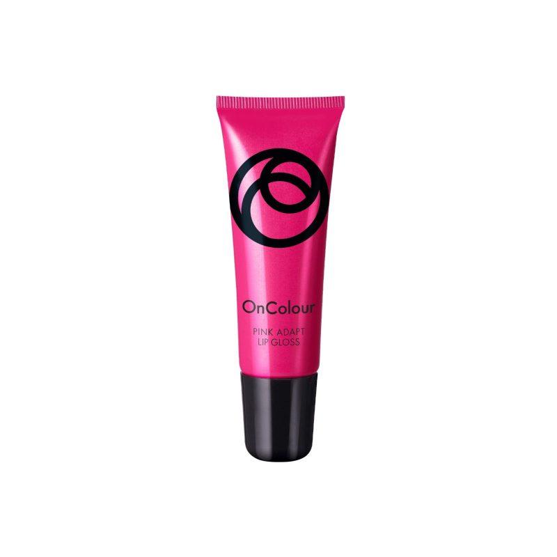 برق لب آنکالر صورتی اوریفلیم OnColour Pink Adapt Lip Gloss Oriflame
