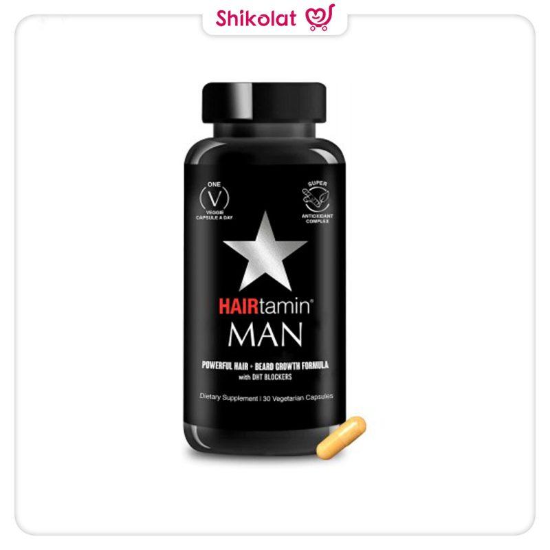 قرص تقویت مو مردانه هیرتامین HAIRtamin Man