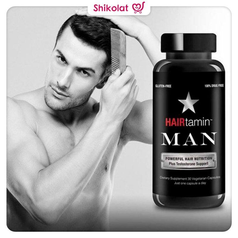 کپسول تقویت کننده مو مردانه هیرتامین HAIRtamin Man