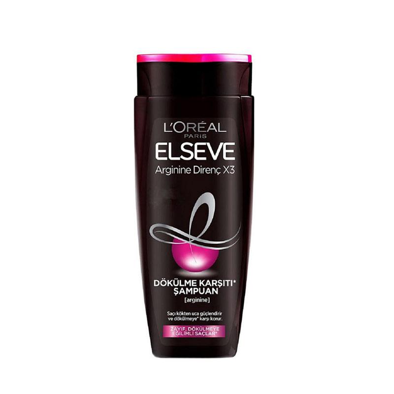 شامپو ضد ریزش موی لورآل مدل Elseve Arginine Resist X3 حجم 450 میل LOREAL