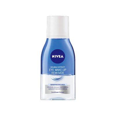 محلول پاک کننده آرایش چشم نیوآ مدل CIFT ETKILI حجم 125 میل Nivea Double Effect Eye Make Up Remover 125 ml