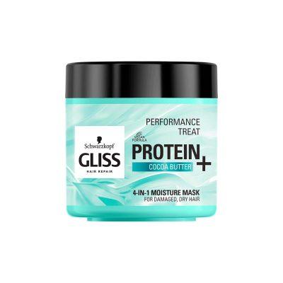 ماسک آبرسان مو گلیس مناسب موهای خشک و آسیب دیده Schwarzkopf Gliss 4-in-1 Mask Protein And Cocoa Butter