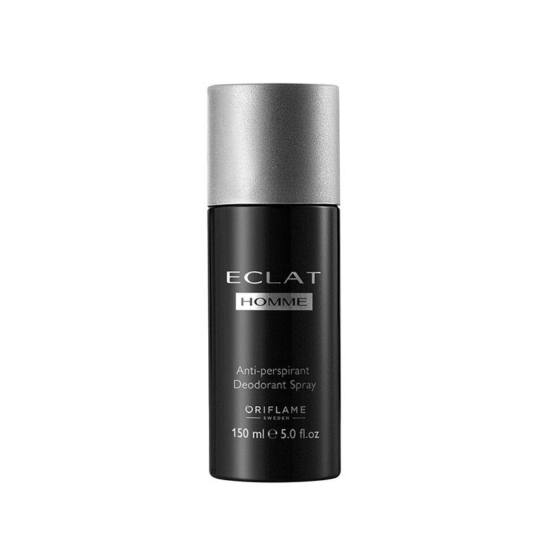 اسپری دئودورانت مردانه اکلت هوم اوریفلیم حجم 150 میلی لیتر Eclat Homme Anti-perspirant Deodorant Spray Oriflame