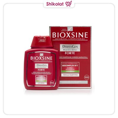 شامپو ضد ریزش مو بیوکسین مخصوص انواع مو حجم 300 میل BIOXCIN FORTE HAIR LOSS SHAMPOO 300ml