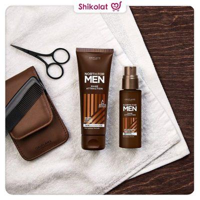 روغن مغذی موی ریش نورث فورمن اوریفلیم NORTH FOR MEN Mane Attraction Nourishing Beard Oil Oriflame