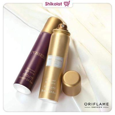 اسپری زنانه پوسس اوریفلیم حجم 75 میلی لیتر Possess Perfumed Body Spray Oriflame