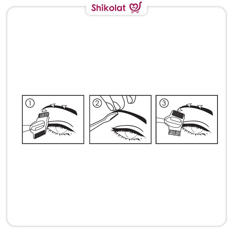 تیغ و برس ابرو اوریفلیم بسته دو عددی ORIFLAME Eyebrow Razor 2-Pack