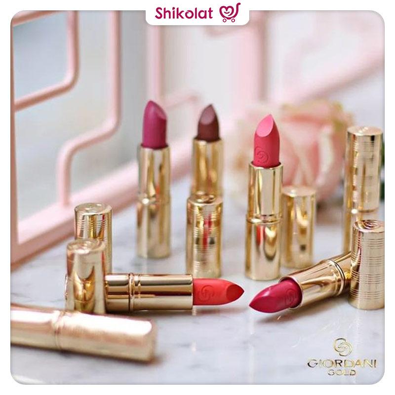 رژلب آیکونیک جوردانی گلد اوریفلیم Giordani Gold Iconic Lipstick SPF 15 Oriflame
