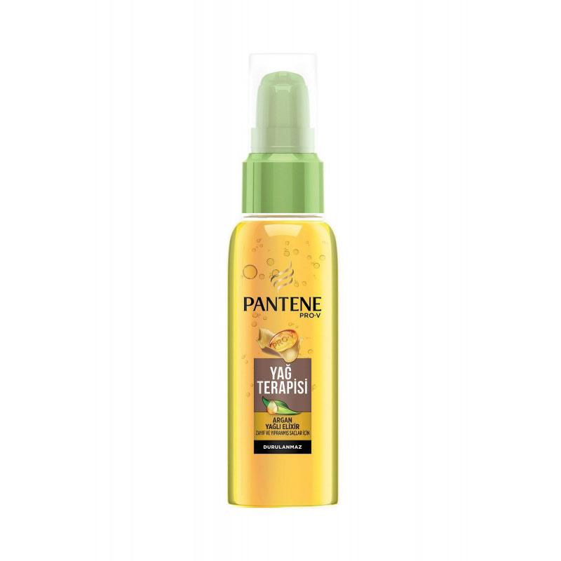 سرم مو آرگان پنتن سری پرو وی حجم 100 میل Pantene Pro-V Argan Oil Hair Serum
