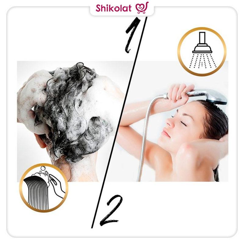 شامپو پنتن مخصوص موهای معمولی مدل Temel Bakim حجم 500 میل Pantene Shampoo For Normal Hair