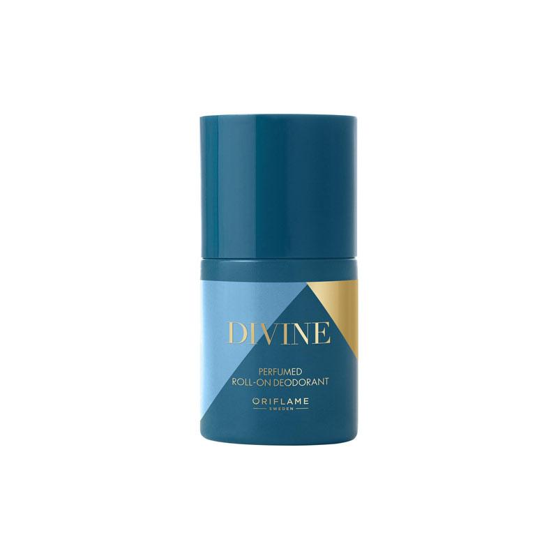 مام دئودورانت عطری دیواین اوریفلیم حجم 50 میل DIVINE Perfumed Roll-On Deodorant Oriflame