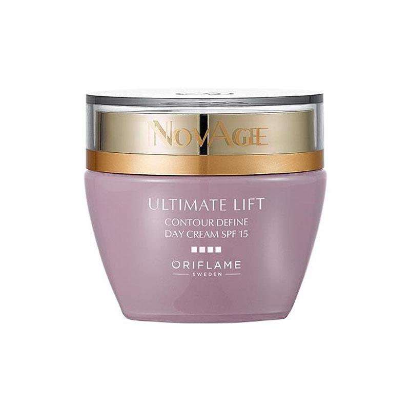 کرم روز لیفتینگ کانتور دیفاین نوایج اوریفلیم حجم 50 میل NOVAGE Ultimate Lift Contour Define Day Cream SPF15 Oriflame