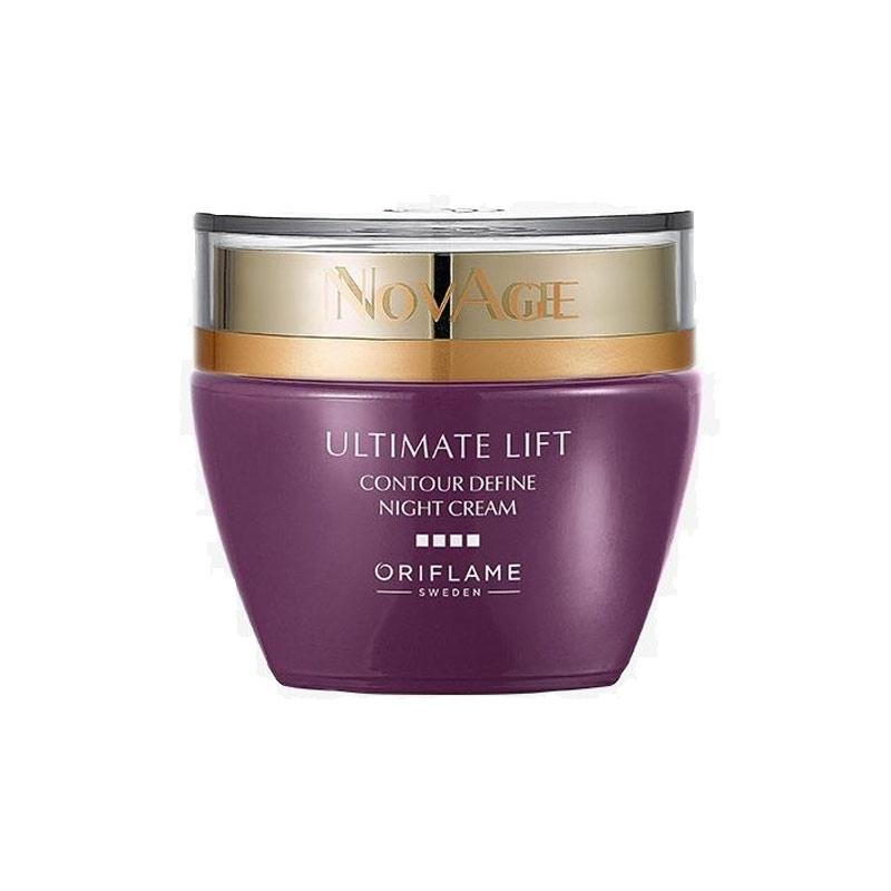 کرم شب لیفتینگ کانتور دیفاین نوایج اوریفلیم حجم 50 میل NOVAGE Ultimate Lift Contour Define Night Cream Oriflame