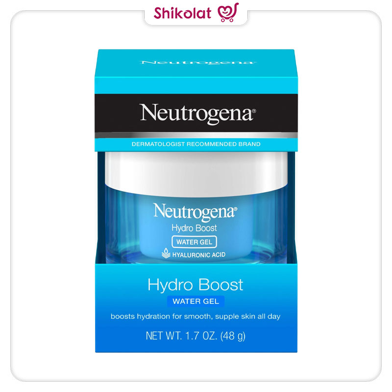 آبرسان صورت واتر ژل هیدرابوست نوتروژینا حجم 50 میل Neutrogena Hydro Boost Water Gel & Oil-Free Face Moisturizer
