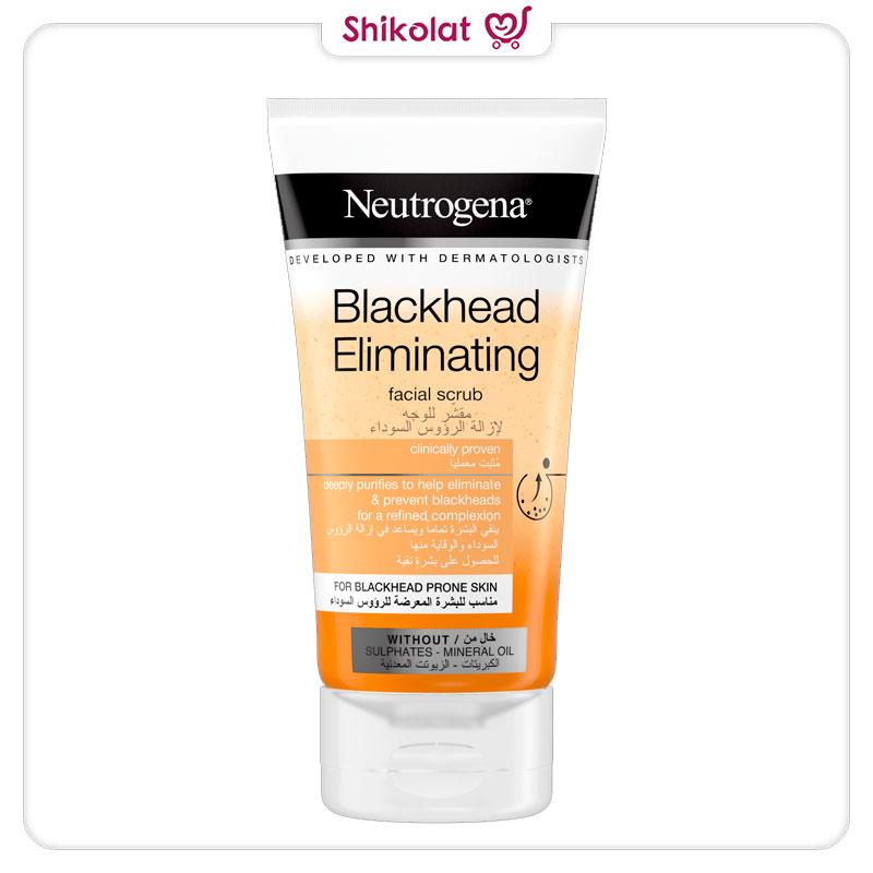 اسکراب ضد جوش سرسیاه نوتروژینا مدل Blackhead Eliminating حجم 150 میل Neutrogena Blackhead Eliminating Daily Scrub