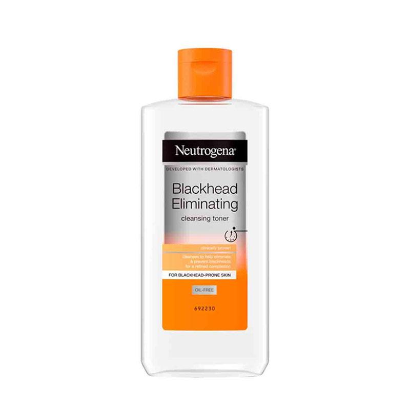تونر ضد جوش سرسیاه نوتروژینا حجم 200 میل Neutrogena Blackhead Eliminating Cleansing Toner