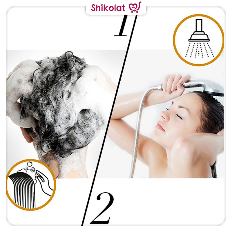 شامپو سری پرو وی پنتن مدل Oil Therapy حجم 500 میل Pantene Nature Fusion Pro-V Oil Therapy Shampoo
