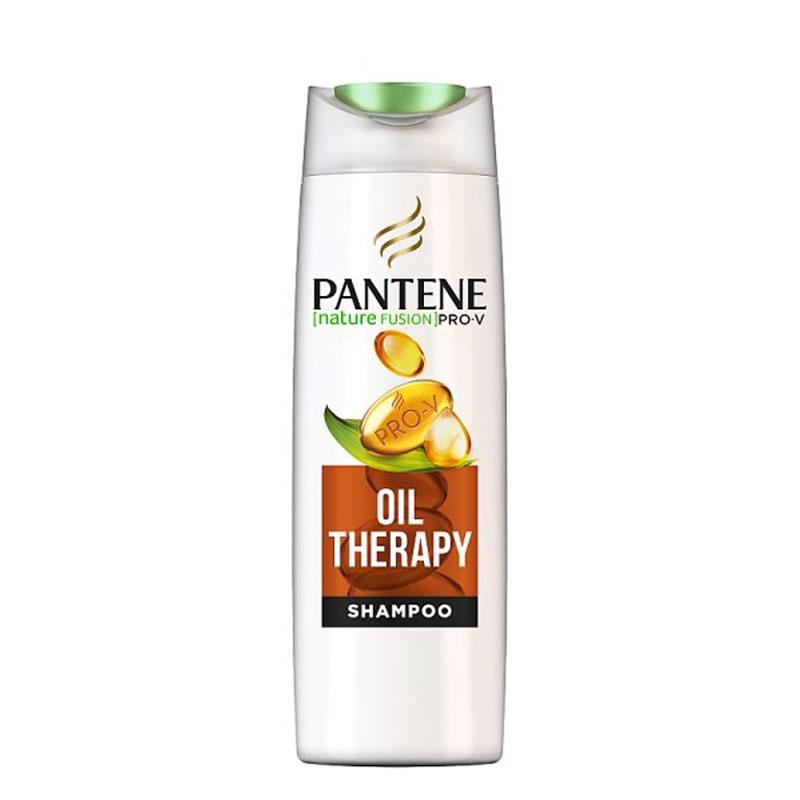 شامپو سری Pro-V پنتن مدل Oil Therapy حجم 500 میل Pantene Nature Fusion Pro-V Oil Therapy Shampoo