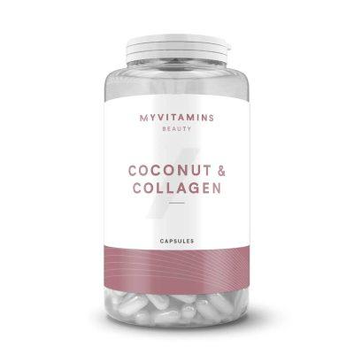 کپسول کوکونات کلاژن مای ویتامینز 180 عددی (اصل) My Vitamins Coconut & Collagen Capsules 180 pcs