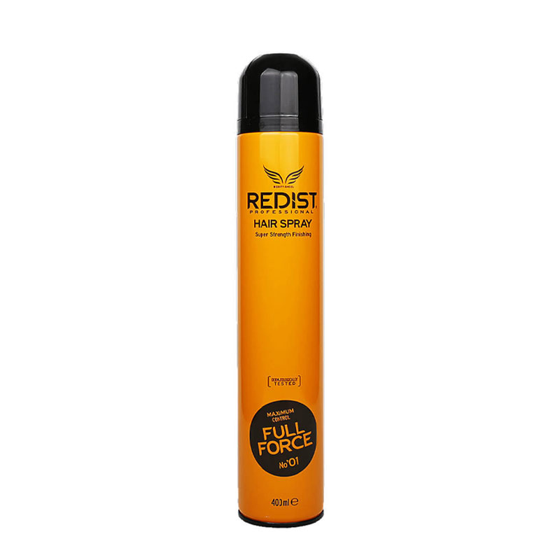 موس موی ردیست مدل ماکزیمم کنترل فول فورث حجم 300 میل Redist Hair Spray Maximum Control Full Force