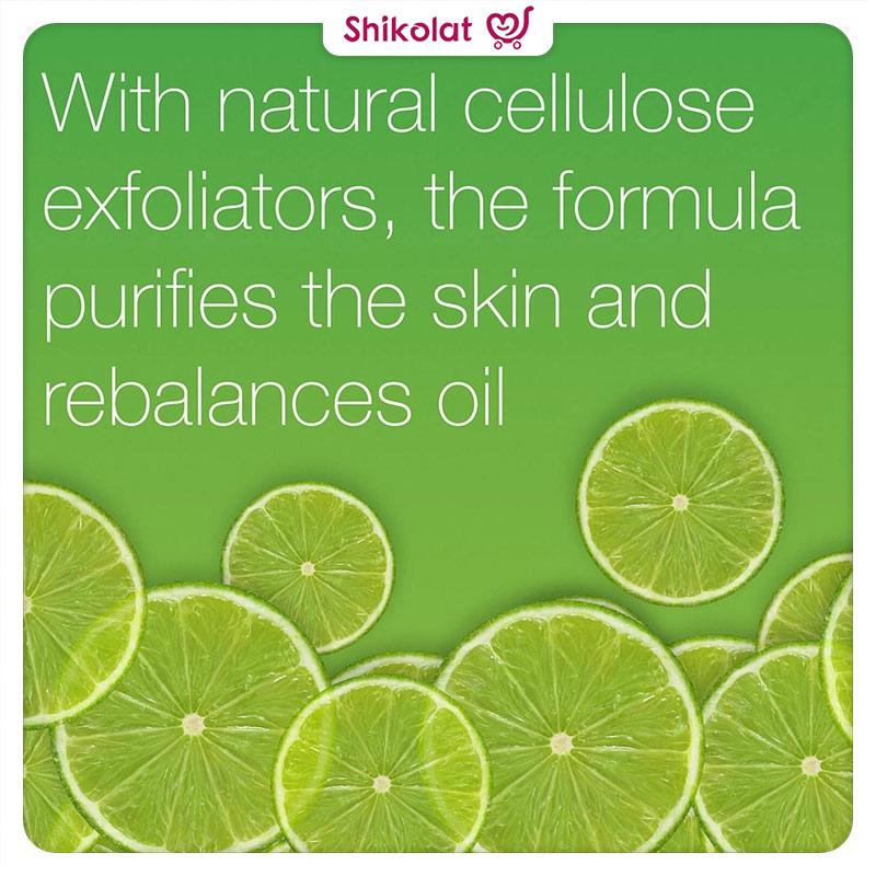 ژل لایهبردار کنترلکننده چربی حاوی عصاره لیمو نوتروژینا حجم 150 میل Neutrogena Oil Balancing Daily Exfoliator