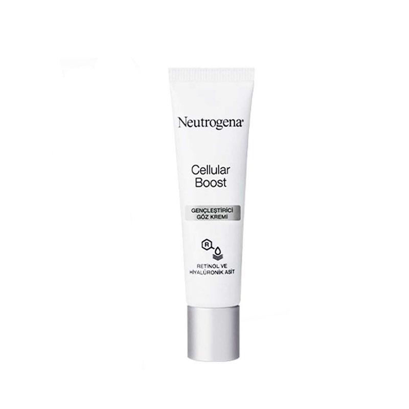 کرم دور چشم جوانساز و ضد چروک و تیرگی سلولار بوست نوتروژینا Neutrogena Cellular Boost Eye Rejuvenating Cream