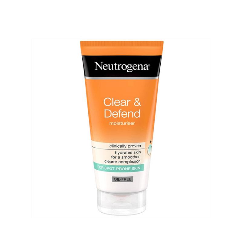 کرم مرطوب کننده ضد جوش فاقد چربی نوتروژینا مدل Clear & Defend حجم 50 میل Neutrogena Clear & Defend Oil-Free Moisturiser