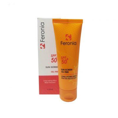 کرم ضدآفتاب فرونیا مدل 508 حجم 50 میلی لیتر Feronia Sunscreen Oil Free